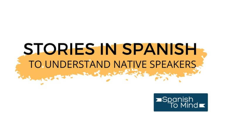Cover photo: Stories in Spanish to Understand Native Speakers