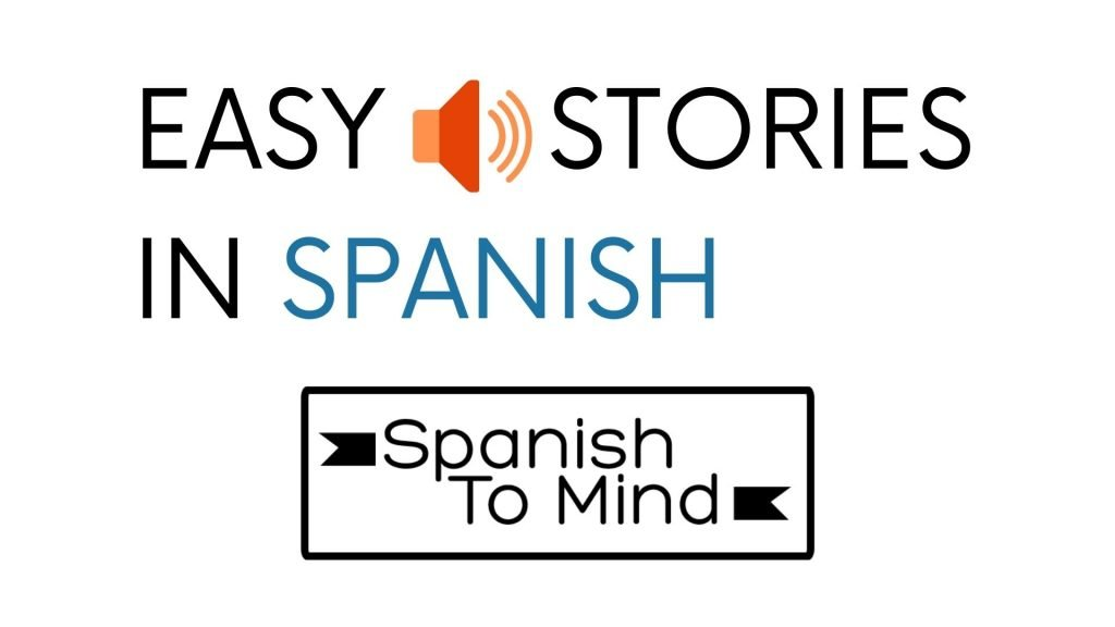 EASY STORIES IN SPANISH cover photo