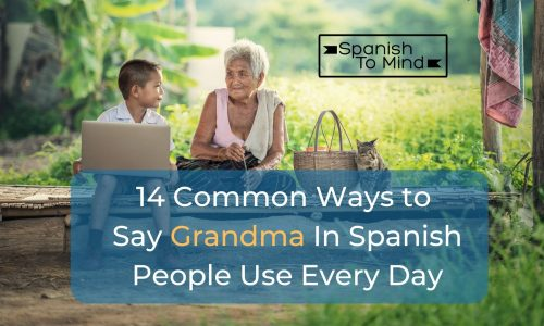 14 Common Ways To Say Grandma In Spanish People Use Every Day